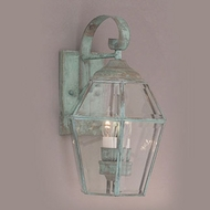Hi-Lite Manufacturing H-556-B Traditional 8 Wide Exterior Lamp Sconce