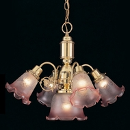 Hi-Lite Manufacturing H-6061-D Victorian 19  Tall Mini Chandelier Lamp