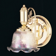 Hi-Lite Manufacturing H-6111-B Victorian 8 Wide Lighting Wall Sconce