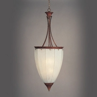 Hi-Lite Manufacturing H-727-D-CLD Beveled 51  Tall Foyer Ceiling Pendant Light