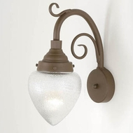Hi-Lite Manufacturing H-7350-B-9 Lakeside 16  Tall Wall Sconce