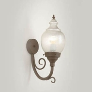Hi-Lite Manufacturing H-7360-B-9 Lakeside 21  Tall Wall Lamp