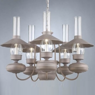 Hi-Lite Manufacturing H-8056-D 19  Tall Ceiling Chandelier