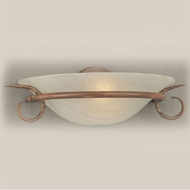 Hi-Lite Manufacturing H-8121-B-CLD Mendocino 15  Wide Wall Light Fixture