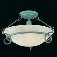 Hi-Lite Manufacturing H-8127-F Mendocino 18  Wide Ceiling Lighting