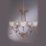 Hi-Lite Manufacturing H-8145-D Traditional 22 Tall Chandelier Light