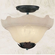 Hi-Lite Manufacturing H-815-F Oakridge 14  Wide Ceiling Light Fixture