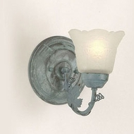 Hi-Lite Manufacturing H-8161-B Traditional 9  Tall Wall Light Sconce