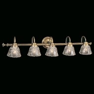 Hi-Lite Manufacturing H-8265-B Traditional 7  Tall 5-Light Bathroom Wall Sconce