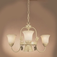 Hi-Lite Manufacturing H-9133-D 14  Tall Mini Chandelier Light
