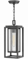 Hinkley 1002OZ Republic Contemporary Oil Rubbed Bronze Outdoor Pendant Lighting