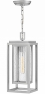 Hinkley 1002SI Republic Modern Satin Nickel Exterior Pendant Light