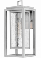 Hinkley 1004SI Republic Modern Satin Nickel Exterior Medium Sconce Lighting