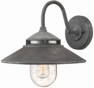 Hinkley 1110DZ Atwell Vintage Aged Zinc Outdoor Wall Sconce
