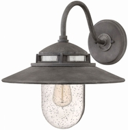 Hinkley 1114DZ Atwell Vintage Aged Zinc Outdoor Wall Lighting
