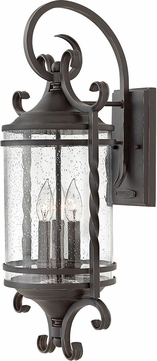 Hinkley 1148OL-CL Casa Olde Black Exterior Large Sconce Lighting