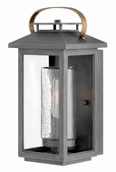 Hinkley 1160AH Atwater Modern Ash Bronze Exterior Small Lighting Wall Sconce