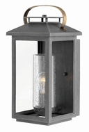 Hinkley 1164AH Atwater Contemporary Ash Bronze Outdoor Medium Wall Lighting Sconce