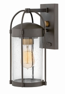 Hinkley 1170OZ Drexler Modern Oil Rubbed Bronze Exterior Small Wall Mounted Lamp