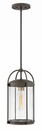 Hinkley 1172OZ Drexler Contemporary Oil Rubbed Bronze Outdoor Hanging Lamp