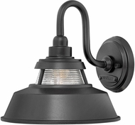 Hinkley 1194BK Troyer Black Exterior Light Sconce