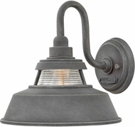 Hinkley 1194DZ Troyer Aged Zinc Outdoor Lighting Sconce