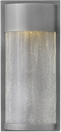 Hinkley 1340HE Shelter Modern Hematite LED Exterior Lighting Wall Sconce