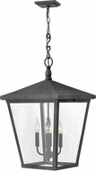 Hinkley 1428DZ-LL Trellis Aged Zinc LED Exterior Hanging Light