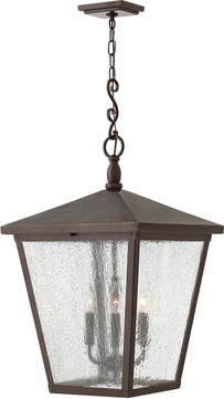 Hinkley 1428RB Trellis Regency Bronze Outdoor Pendant Light Fixture
