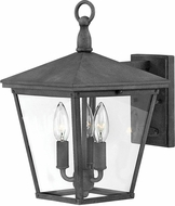 Hinkley 1429DZ Trellis Aged Zinc Outdoor Wall Sconce Lighting