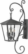 Hinkley 1436DZ-LL Trellis Aged Zinc LED Outdoor Wall Sconce