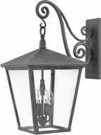 Hinkley 1438DZ-LL Trellis Aged Zinc LED Outdoor Wall Lighting