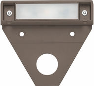 Hinkley 15444BZ Nuvi Contemporary Bronze LED Exterior Landscape Deck Light