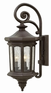 Hinkley 1604OZ Raley Traditional Oil Rubbed Bronze Exterior Wall Sconce Lighting