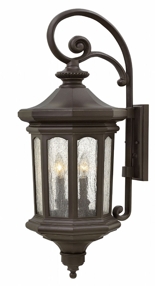 Hinkley 1605oz Raley Traditional Oil Rubbed Bronze Outdoor Wall Light Fixture Loading Zoom