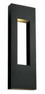 Hinkley 1639SK Atlantis Modern Satin Black Outdoor Landscape Light
