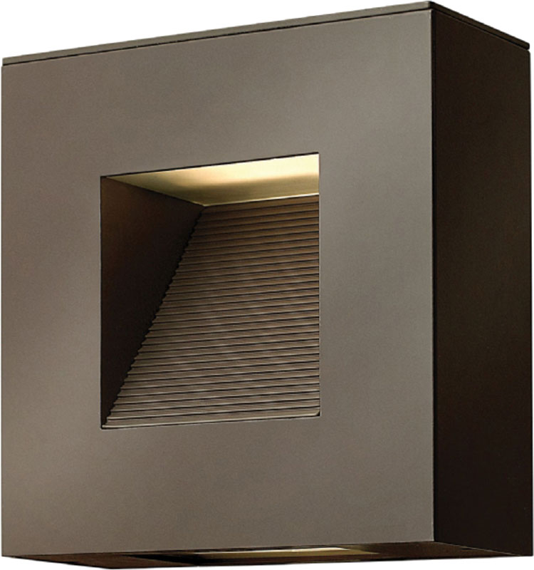 Hinkley 1647BZ-LED Luna Contemporary Bronze LED Exterior Wall ...