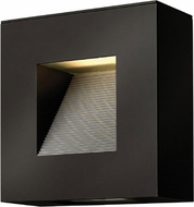 Hinkley 1647SK-LED Luna Modern Satin Black LED Outdoor Wall Lamp