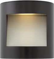 Hinkley 1659SK Luna Modern Satin Black LED Outdoor Wall Lamp