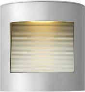 Hinkley 1659TT Luna Contemporary Titanium LED Exterior Wall Lighting