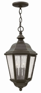 Hinkley 1672OZ Edgewater Traditional Oil Rubbed Bronze Outdoor Pendant Light