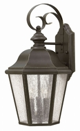 Hinkley 1676OZ Edgewater Traditional Oil Rubbed Bronze Exterior Wall Mounted Lamp