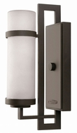 Hinkley 1696KZ Cordillera Modern Buckeye Bronze Outdoor Wall Light Sconce