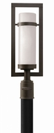 Hinkley 1697KZ Cordillera Contemporary Buckeye Bronze Exterior Lamp Post Light