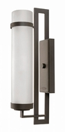 Hinkley 1699KZ Cordillera Contemporary Buckeye Bronze Exterior Wall Light Sconce