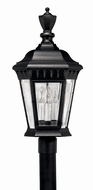 Hinkley 1707BK Camelot Black Outdoor Post Lighting Fixture