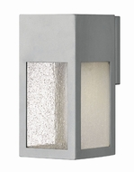 Hinkley 1780TT Rook Modern Titanium Halogen Outdoor Small Lighting Sconce