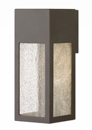 Hinkley 1784BZ Rook Modern Bronze Halogen Outdoor Medium Wall Sconce Lighting