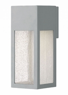 Hinkley 1784TT Rook Modern Titanium Halogen Outdoor Medium Wall Sconce Lighting