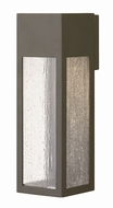 Hinkley 1785BZ Rook Modern Bronze Halogen Outdoor Large Wall Light Sconce